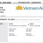 Hướng dẫn đặt vé máy bay thanh toán sau xin visa