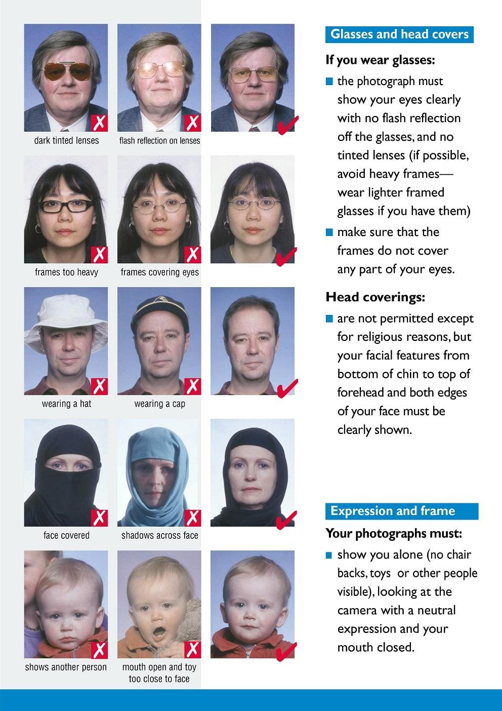 Chụp ảnh hộ chiếu mặc áo gì?