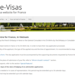 hướng dẫn điền đơn xin visa pháp