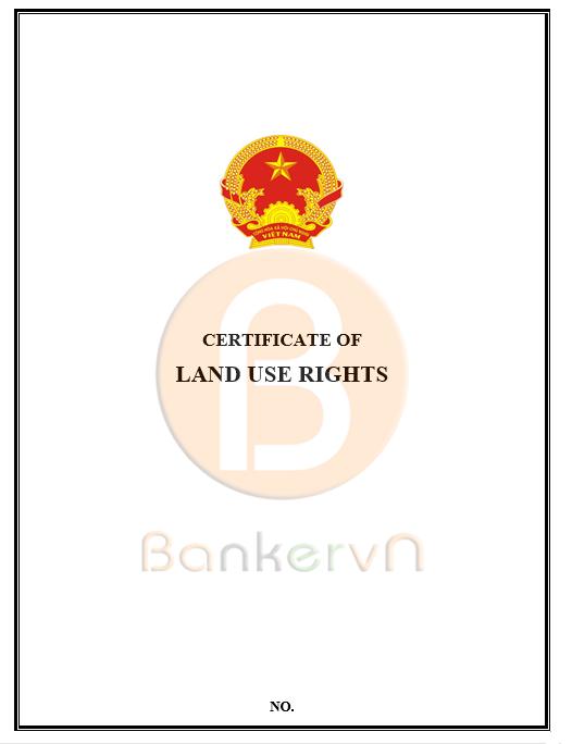 mẫu giấy chứng nhận quyền sử dụng đất tiếng anh tờ 1