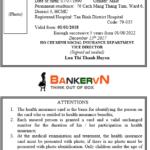 Bản mẫu Dịch thẻ bảo hiểm y tế sang tiếng anh
