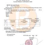 Dịch vụ chứng minh tài chính Kienlongbank
