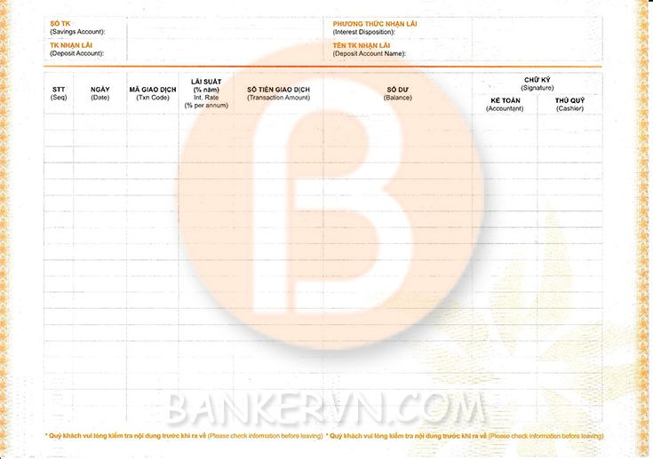 Dịch vụ chứng minh tài chính Bac A Bank