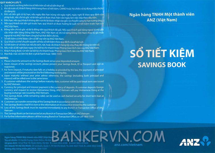 Dịch vụ chứng minh tài chính ANZ