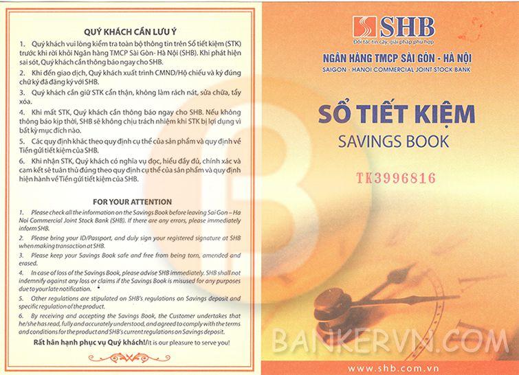 Dịch vụ chứng minh tài chính SHB