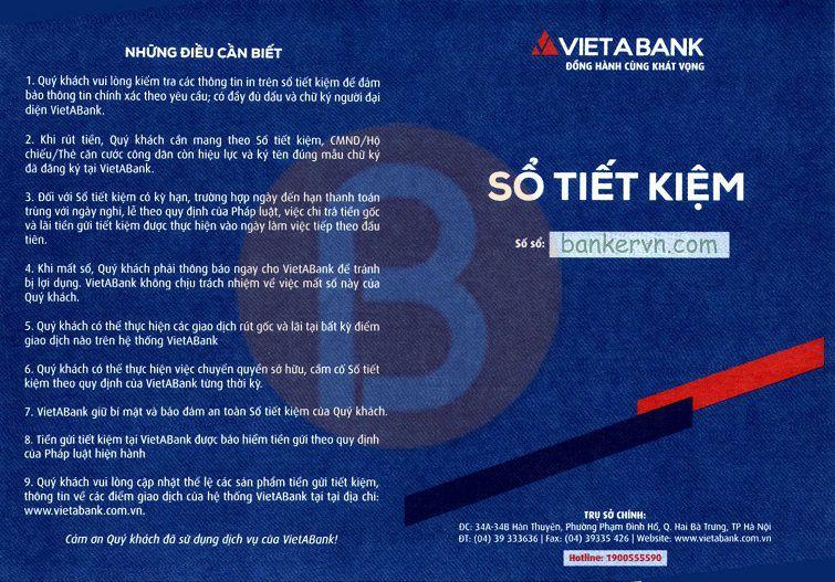 chứng minh tài chính vietabank